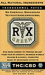RX Green THC:CBD Patch No.4