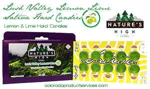 Natures High 300mg Lush Valley Lemon Lime - Sativa