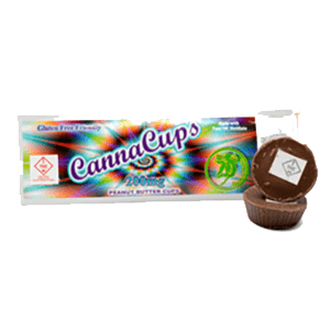 CannaCups – Chocolate & Peanut butter cups by Tincturebelle – 200mg