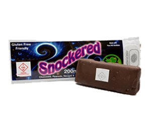 Tincturebelle Snockered 200mg THC Chocolate Bar