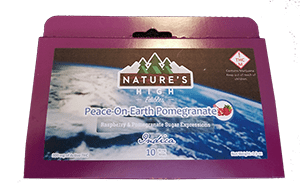 Natures High 300mg Peace on Earth Pomegranate – Indica