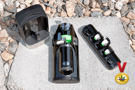 *New!* Ghost MV1 portable convection vaporizer review – Matt Black MV1 Stealth Edition