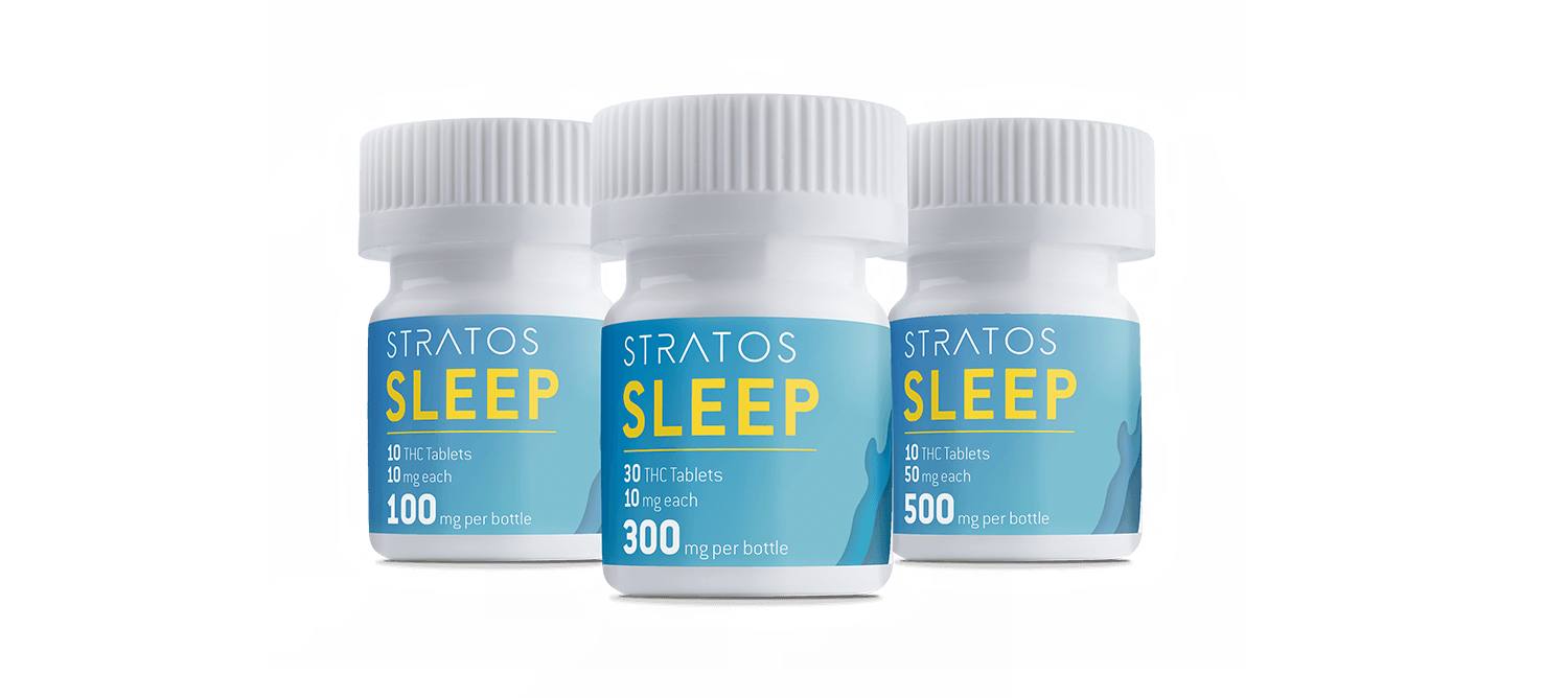 Stratos Sleep – Indica 100mg – Updated