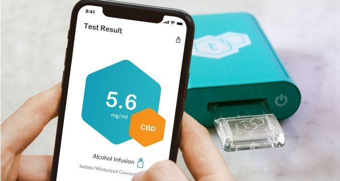 tCheck2 cannabis potency tester