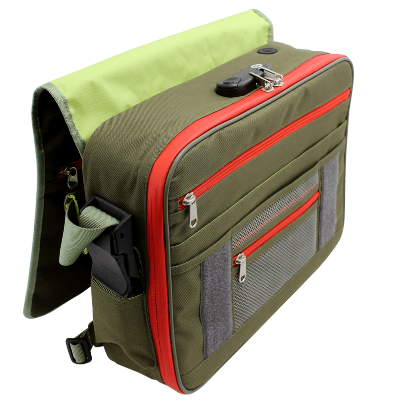 StashLogix RiNo Odor Proof Messenger Bag