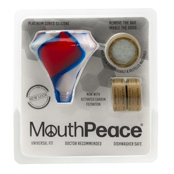 MouthPeace with Activated Carbon Filtration