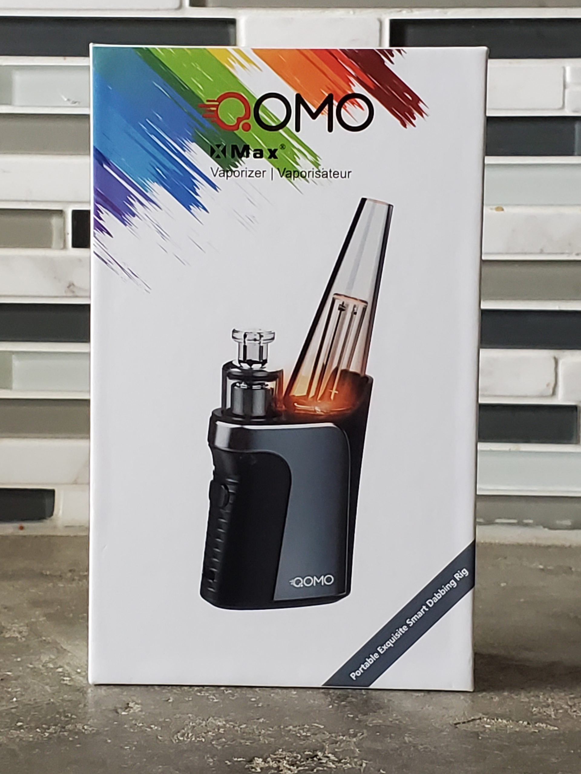 Qomo Max Portable Electric Dab Rig
