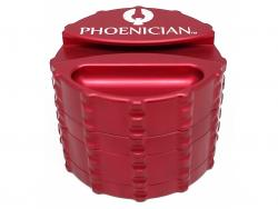 Large-4pc-Grinder-Bordeaux-Red-With-Papers-Holder (2)
