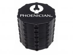 Phoenician Medium-4pc-Grinder-Jet-Black (1)